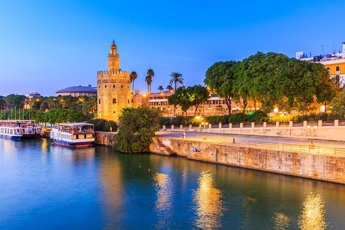 Guadalquivir, river in Seville, Spain
