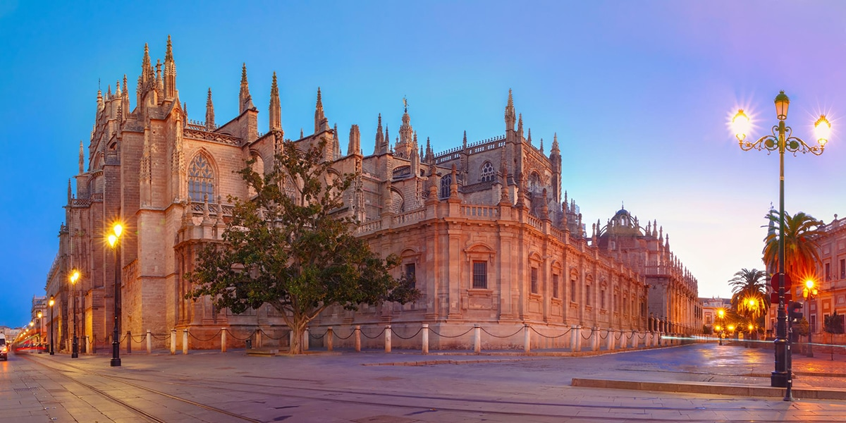 The incredible Seville Cathedral